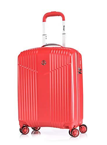 ABISTAB Verage V-Lite 55/19 Equipaje de Mano, 55 cm, 37 Liters, Rojo (Rot)