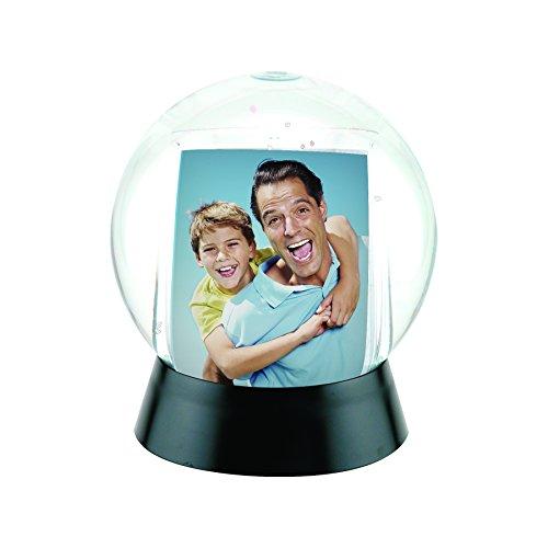 Neil Enterprises, Inc Photo Snow Globe with Black Base