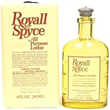 Royall Spyce By Royall Fragrances For Men. Aftershave Lotion Cologne 8 Ounces