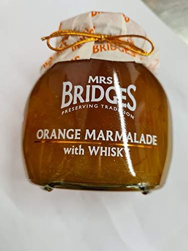 Orange Marmalade with Whisky 340g treat yourself or gift to someone special. Suitable for Vegan, Vegetarian and Gluten diets