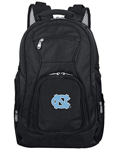 Denco NCAA North Carolina Tar Heels Mochila para portátil de 19 pulgadas, color negro