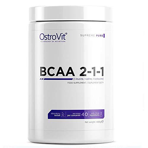Ostrovit BCAA 2-1-1 400g Verzweigte BCAA-Aminosäuren Muskelregeneration