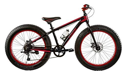 Bici Misura 24 Bambino MTB Fat Bike Crow Alluminio 6V Art. FAT24CW