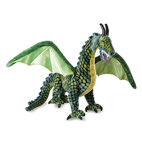 Melissa & Doug Winged Dragon - Plush Multicolor, 36 x 40.5 x 16""