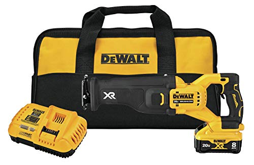 DEWALT 20V MAX XR Reciprocating Saw Kit, Power Detect Tool Technology (DCS368W1)