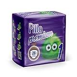 PILLO Premium New Born, Taglia 1 (2-5 Kg), 1 Pacco da 28 Pannolini Bimbo