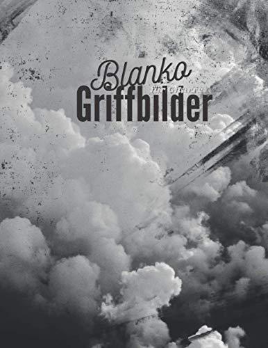 Blanko-Griffbilder für Gitarre: Notizbuch für Musiker   Zum Eintragen eigener Akkorde   21,6 x 27,9 cm   102 Seiten