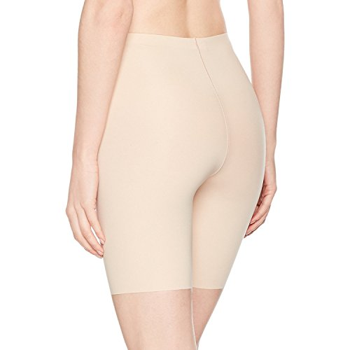 SPANX Shapewear for Women Thinstincts 1.0 High-Waisted Mid-Thigh Shaping Short (Regular and Plus Sizes) Soft Nude MD One Size