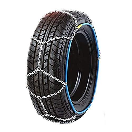 WYJW Cadenas de Nieve para neumáticos, Cadenas de Nieve para automóviles, Cadenas de tracción de neumáticos, Cadenas Antideslizantes para neumáticos de Emergencia en Invierno No se requ