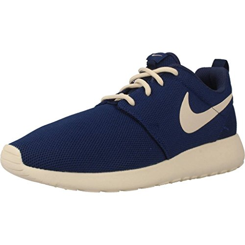 Nike Damen WMNS Roshe One Sneakers, Blau (Binary Blue/Oatmeal/Oatmeal), 38 EU