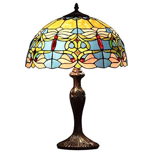 Inicio Luz Tiffany Europea lámpara de noche caliente clásica magnífica de la lámpara de tabla de la manera moderna de lujo, conveniente Villa Salón Dormitorio Estudio boda Room Cafe Bar Tienda de ropa