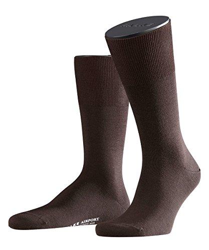 6 Paar Falke Herren Socken 14435 Airport SO Classic Kurzstrümpfe, Farbe:Brown 5930;Socken & Strümpfe:41-42