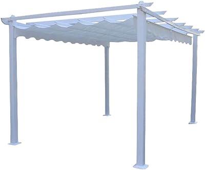 nextradeitalia 1PZ Pali Quadri in Legno PIALLATI montanti per Giardini recinzioni PERGOLE gazebi e pergolati morali TRATTATI 70X70 MM H 300 CM