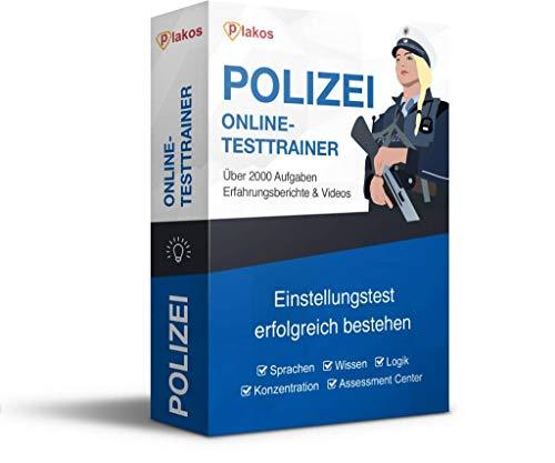 Polizei Sondereinsatzkommando / SEK Einstellungstest Online-Testtrainer: authentische Aufgaben und Tests aus den Bereichen Sprache, Konzentration, Allgemeinwissen und Logik   Eignungstest bestehen