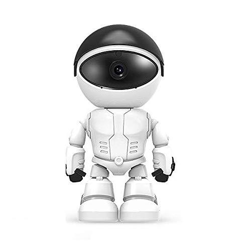 Eurrowebb - Robot con cámara espía de vigilancia (Wi-Fi, 1080p, visión infrarroja)