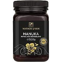 Watson & Son Miel de Manuka MGO 200+ 500g, Calidad Premium Certificada de Nueva Zelanda, Pura y natural