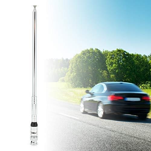 Shanrya Walkie-Talkie Antena para automóvil Durable Larga Vida útil Antena para automóvil Producto eléctrico Lámparas para Control Remoto de TV
