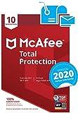 McAfee Total Protection 2020 - Antivirus | 10 Dispositivos | Suscripción de 1 año | PC/Mac/Android/Smartphones | Código de activación por correo