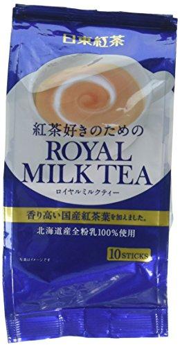 Nitto Königliche Milk Tea 10P 4.9Oz (140G) (4-Pack)