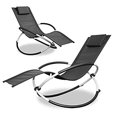 Amazon - 40% Off on Outdoor Lounge Chair, New Zero Gravity Chair, Foldable Outdoor Chaise Lounge 2 Pack