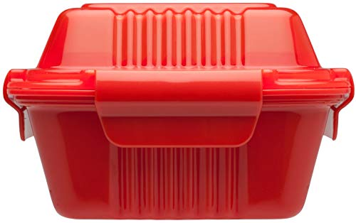 Aladdin 0.35Litre Takeaway Lunch Box, Red