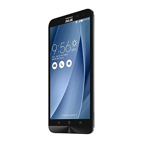 "Asus Zenfone 2 Laser - Smartphone de 6"" (4G, WiFi, Bluetooth 4.1, Qualcomm Snapdragon 615, 16 GB de memoria interna, 3 GB de RAM, cámara de 13 MP, Android 5.0) gris"