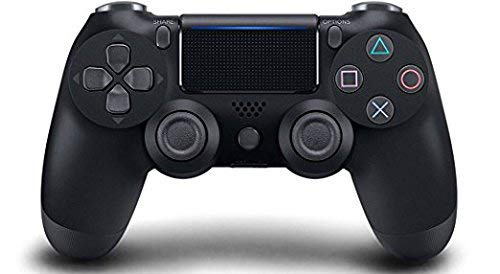 PS4 Standard Black Rapid Fire Modded Controller for COD BO3, AW, Ghosts, Destiny, Battlefield: Quick Scope, Drop Shot, Auto Run, Sniped Breath, Mimic, More