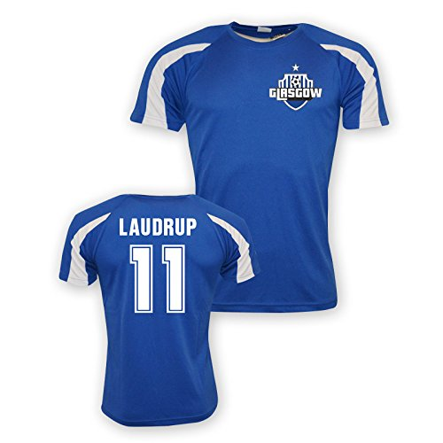 Brian Laudrup Rangers Sports Training Jersey (blue)