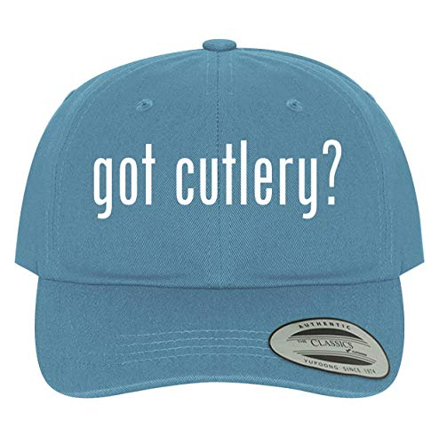 BH Cool Designs got Cutlery? - Men's Soft & Comfortable Dad Baseball Hat Cap, Light Blue, One Size