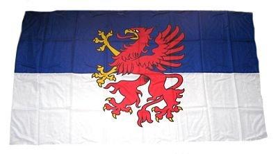 Fahne/Stockflagge Pommern 30 x 45 cm Flagge
