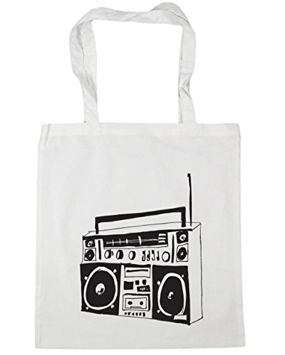 Boombox Tote Bag, Ethically Produced. Full choice of colours