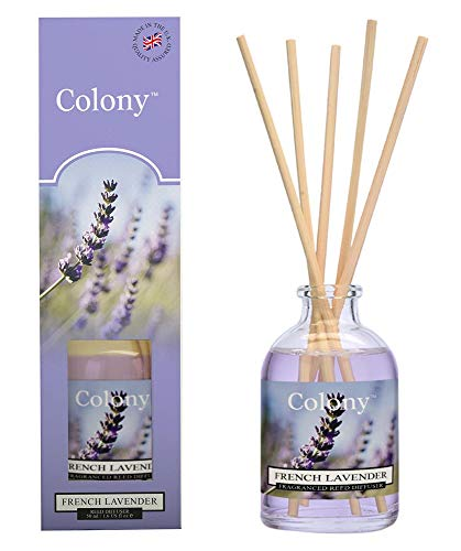 Colony Reed Diffuser 50ml French Lavender, blau