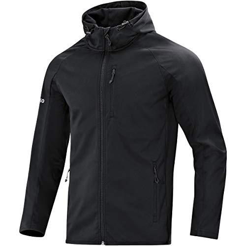 JAKO Herren Softshelljacke Light Softshell-jacken, schwarz, XL