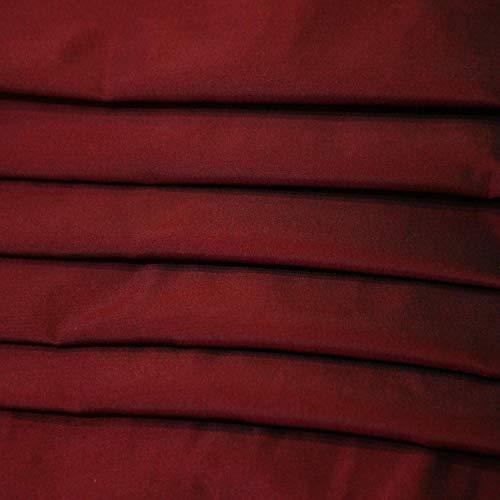 July.sf Treasure Box Taft 100% zijde, kleding van zijde, 5 m Rode Wijn