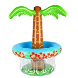 Soyoekbt Inflatable Palm Tree Cooler Beverages Cooler Summer Swimming Party Decoration Tropically Themed Party Luau Party and Hawaiian Party