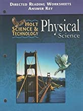 Holt Science and Technology 2001 : Physics: Directed Reading Worksheets with Answer Key