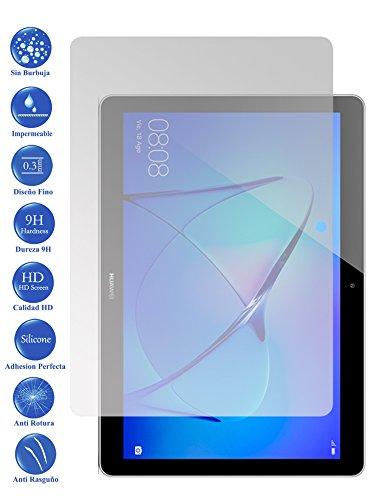 Todotumovil Protector de Pantalla Huawei T3 10 9.6 de Cristal Templado Vidrio 9H para Tablet