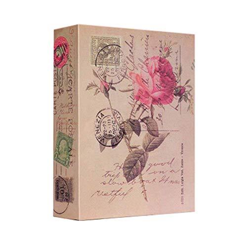 Caja fuerte con cerradura de combinación, caja de seguridad secreta de metal oculto, caja de dinero oculta, caja de colección