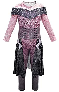 snow flying Pink Dress Jumpsuit Cosplay Costume Halloween for Girls Cosplay Costume