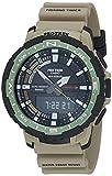 Casio Men's Pro Trek Quartz Sport Watch with Resin Strap, Khaki, 22.5 (Model: PRT-B70-5CR)