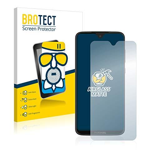 BROTECT Entspiegelungs-Panzerglasfolie kompatibel mit Motorola Moto G7 Plus / G7 - Anti-Reflex Panzerglas Schutz-Folie Matt