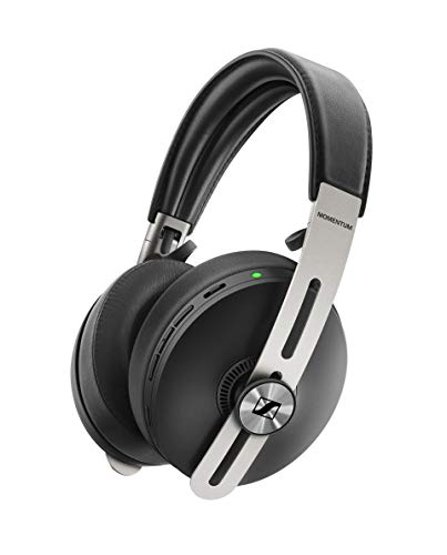 Sennheiser Momentum 3 Wireless Casque Sans Fil à Suppression de Bruit avec Alexa, Activation/Désactivation Automatique, Pause IntellIgente et Appli Smart Control de Sennheiser, Noir