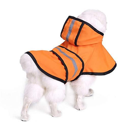 Feidaeu Pet Costume Wasserdichte ultraleichte Regenbekleidung Golden Retriever Labrador Husky Kleiner großer Hunderegenmantel