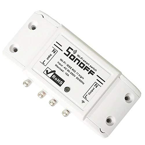 Conveniente Controlador de Juego Smart WiFi Switch DIY Smart Wireless Remote Switch Domotica WiFi Light Switch Controlador de casa Inteligente para el Ocio y el Entretenimiento