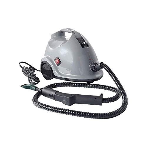 Limpiador de vapor multiusos de 1800W con accesorios, vapor de hogar con tanque de 1.5L for limpieza de productos químicos, máquina de limpieza de rodadura de alta resistencia for alfombras, pisos, ve