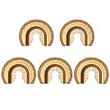 Daytesy 5 Piezas de Cuchillas de Sierra oscilantes de carburo para Herramientas múltiples, Kits de...