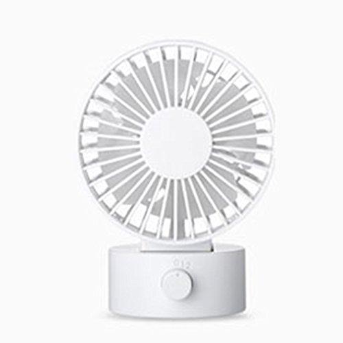 XUERUI Desk-Fan To Connect Ie. met PC Fan PC Notebook USB Wit.