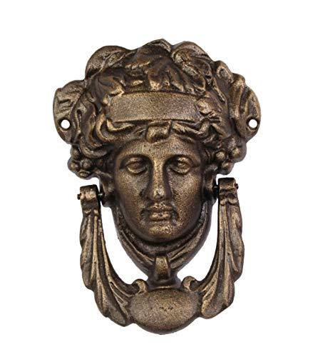 Moritz deurklopper antieke stijl oude medusa decoratie klopper bel gietijzer zeegrootin Gorgone
