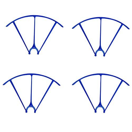 B Blesiya 4 Stücke Drohne Schutzrahmen Schutzhülle Ersatzteie für X5HW X5HC SYMA - Blau
