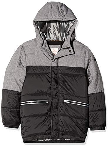 ESPRIT KIDS Jungen RP4210409 Outdoor Jacket Jacke, Schwarz (Black 020), (Herstellergröße: 128+)